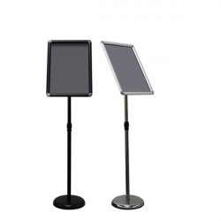 A3 Size Paper Pedestal Floor Display Stand