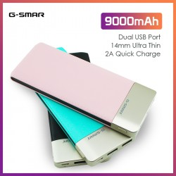 G-SMAR 9000mAh Power Bank DP663